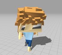 歩行アニメーションを実行するとゆがんでしまう