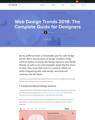 図2 2018年のデザイントレンド