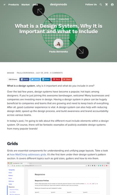 図1 デザインシステムはなぜ重要で何を含めるべきか