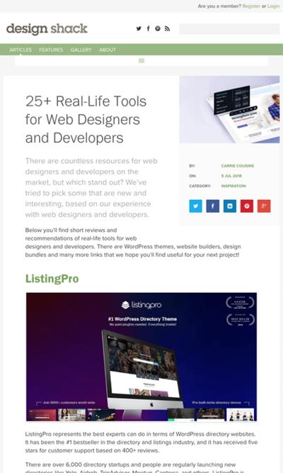 図6 ウェブデザイナーや開発者に役立つ様々なサービスまと