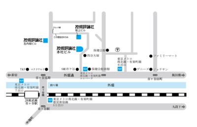 [地図]技術評論社